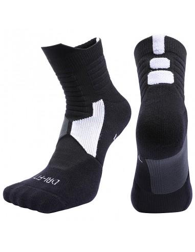 Носки для баскетбола Elite Pure Knitted Dri-fit Basketball Foot Mid Socks