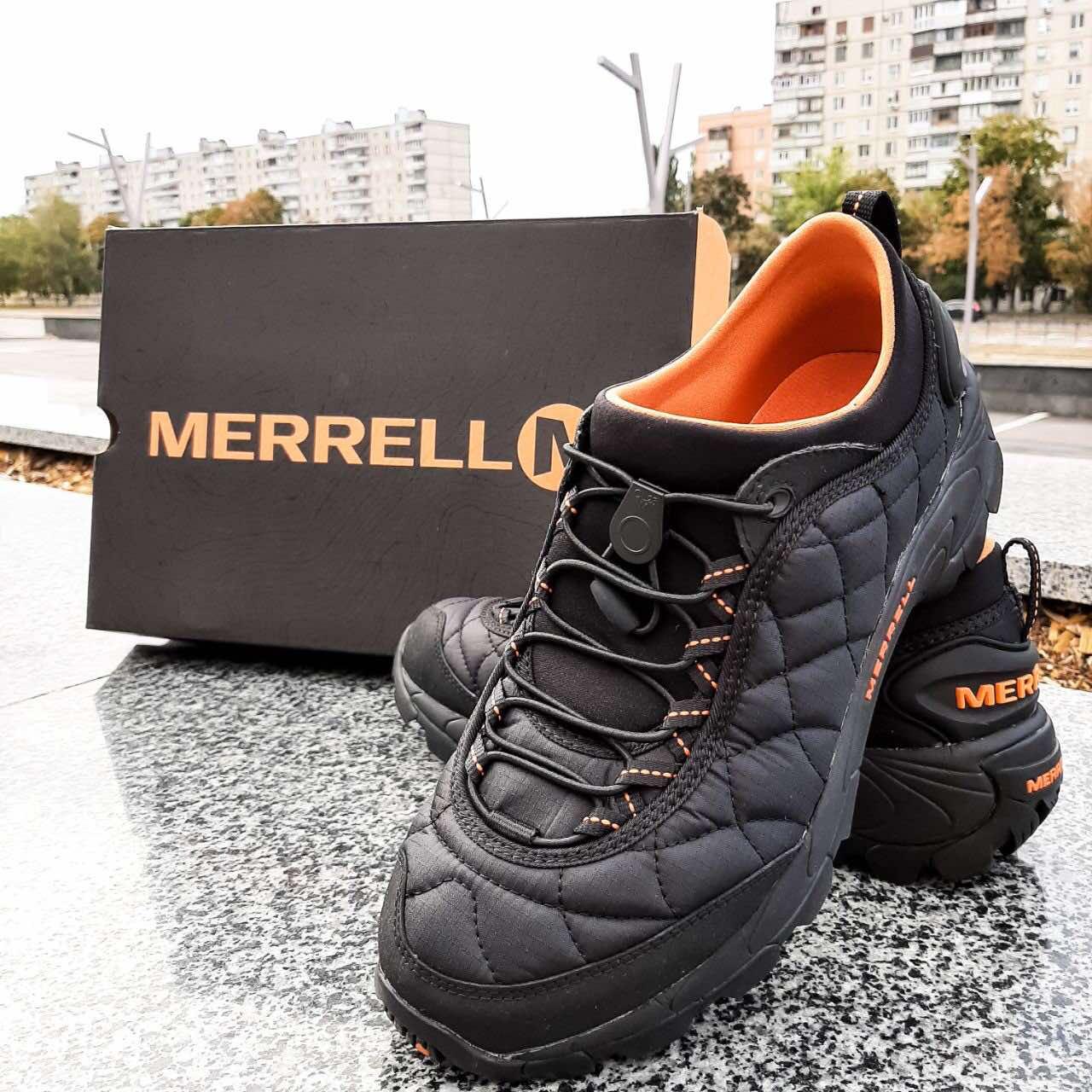 Мужские зимние кроссовки Merrell Ice Cap Moc 2 J61391 фото